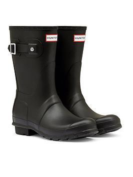 hunter-original-short-welly-boots-black