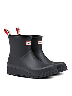 hunter-original-play-boot-short-welly-boots-black