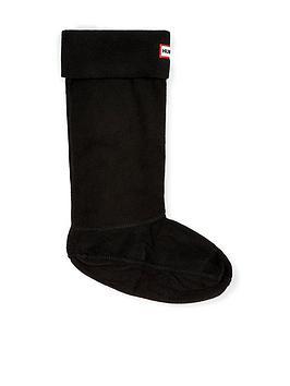 hunter-wellingtonnbspboot-socks-black