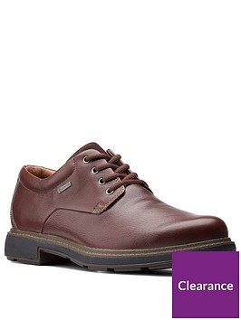 clarks-un-treadlo-gore-tex-leather-shoes-dark-brown