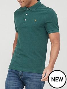 farah-blanes-short-sleeve-polo-shirt-emeraldnbsp