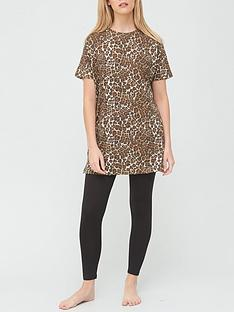 v-by-very-longline-t-shirt-amp-legging-pyjamas-animal