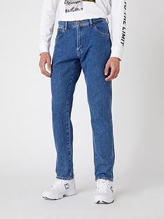 wrangler-texas-tapered-jeans-blue