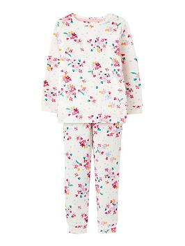 joules-girls-sleepwell-ditsy-floral-jersey-pyjamas-white