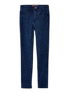 joules-girls-elva-leopard-print-jeggings-blue
