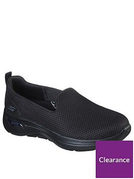 skechers-go-walk-arch-fit-grateful-plimsoll-black