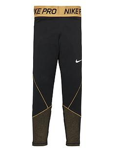 nike-girls-pro-warm-tights-black-white