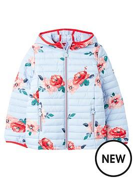 joules-girls-kinnaird-floral-packaway-padded-jacket-blue