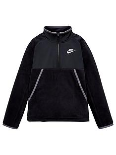 nike-boys-nswnbspwinterized-half-zip-top-blackgrey