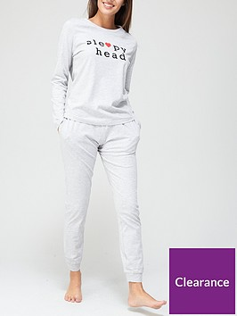 v-by-very-sleepy-head-long-sleeve-pyjama-set-grey-marl