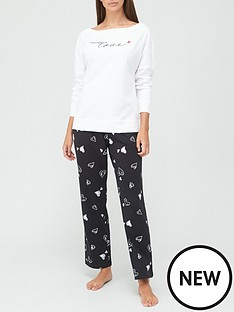 v-by-very-love-slouchy-top-pyjamas-print