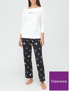 v-by-very-love-slouchy-top-pyjamas-print
