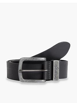 wrangler-metal-loop-belt-black