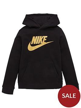 nike-boys-nsw-sportswearnbspclub-fleece-hoodie-black-gold