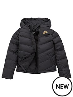 nike-unisex-nsw-synthetic-fill-jacket-black-gold