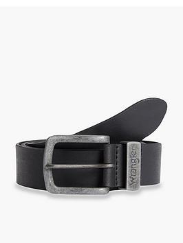 wrangler-leather-belt-black