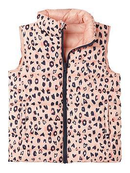 joules-girls-reversible-leopard-print-gilet-pink