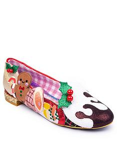 irregular-choice-xmas-lunch-flat-shoe-multi