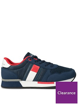 tommy-hilfiger-childrens-low-cut-flag-lace-up-trainer-navy