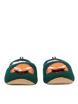 joules-boys-dino-slip-on-slippers-green