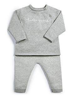 mamas-papas-baby-unisex-two-piece-knitted-set-multi