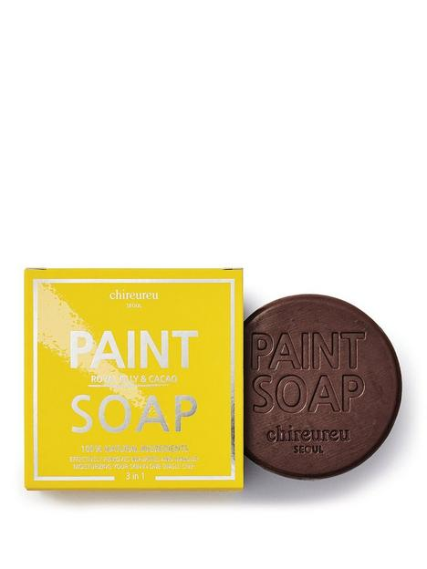 chireureu-royal-jelly-amp-cacao-paint-soap-100g