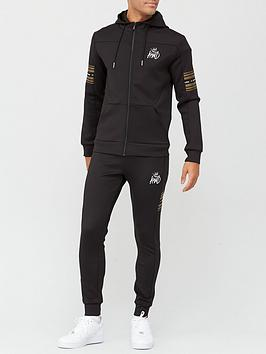 kings-will-dream-vez-zip-through-hooded-tracksuit-blackgold