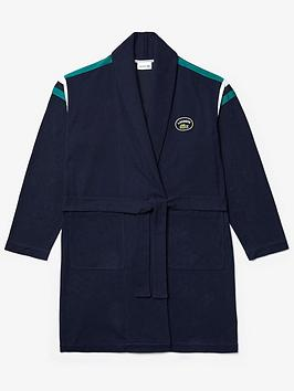 lacoste-logo-dressing-gown-blue