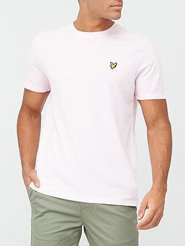 lyle-scott-marl-t-shirt-lilac