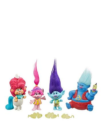 Trolls DreamWorks Glam Chenille Fashion Doll Inspired World Tour Ages 4+