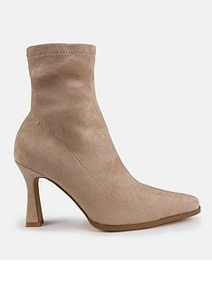 missguided-feature-heel-faux-suede-sock-boots-sand