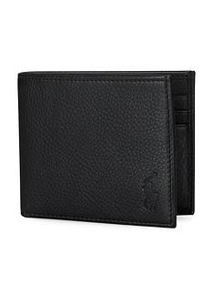 polo-ralph-lauren-billfold-leather-wallet-black