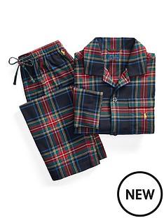 polo-ralph-lauren-flannel-sleepwear-lounge-set-multi