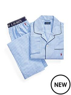 polo-ralph-lauren-woven-sleepwear-set-blue