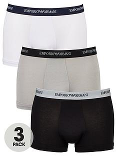 emporio-armani-bodywear-3-pack-emporio-waistband-stretch-cotton-trunks-blackgreywhite