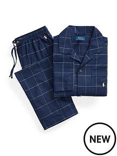 polo-ralph-lauren-flannel-sleepwear-set-navy
