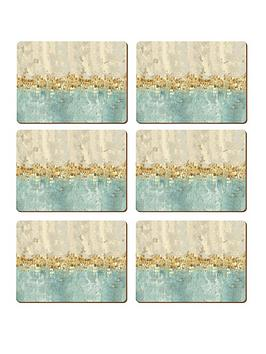 creative-tops-golden-reflections-placemats-ndash-set-of-6