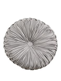 round-pleated-velvet-cushion