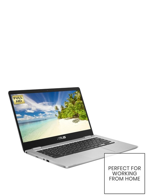 asus-chromebook-c423na-eb0324-14-inch-full-hdnbspintel-pentiumnbsp4gb-ramnbsp64gb-storage-optional-microsoftnbsp365-family-15-months--nbspsilver