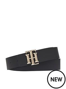 tommy-hilfiger-logo-reversible-belt-30-black