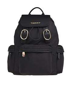 tommy-hilfiger-recycled-nylon-backpack-black