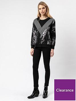 religion-ultimate-chevron-knitted-crew-black