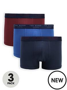 ted-baker-3-pack-mixed-trunks-multi