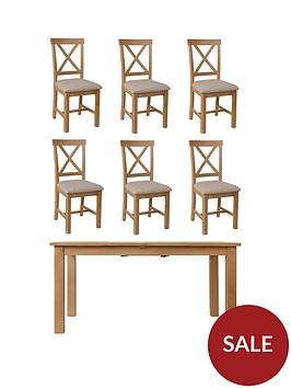 k-interiors-shelton-160-200-cmnbspextending-dining-tablenbspnbsp6-chairs