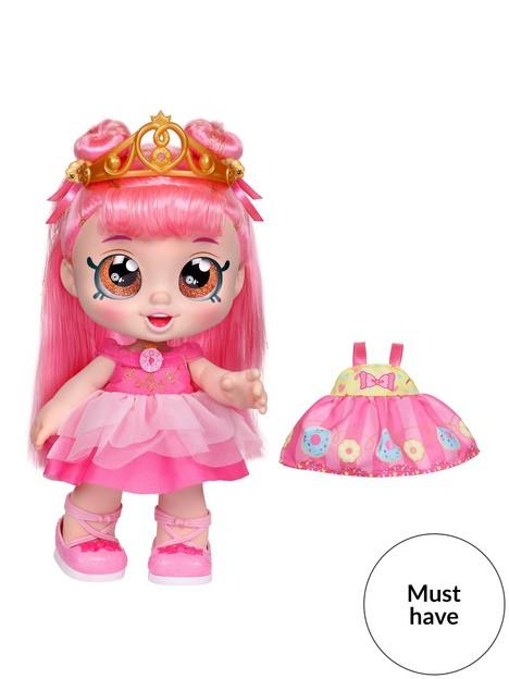 kindi-kids-kindi-kidsdonatina-princess-dress-up-doll--pre-school-10-inch-toddler-dollandoutfit
