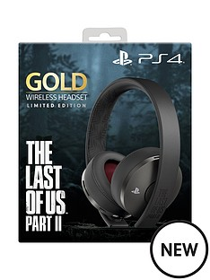 playstation-4-limited-edition-the-last-of-us-part-ii-gold-wireless-headset