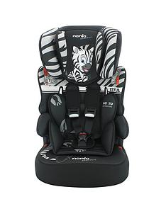 nania-adventure-beline-sp-zebranbspgroup-123-high-back-car-booster-seat