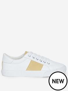 dorothy-perkins-irina-trainers-whiteyellow