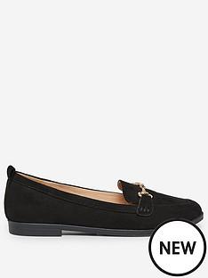 dorothy-perkins-lula-loafers-black
