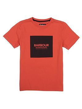 barbour-international-boys-block-logo-t-shirt-orange
